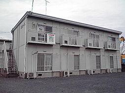 茨城県水戸市住吉町の賃貸アパートの外観
