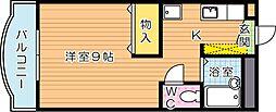 クラリス高須[3階]の間取り