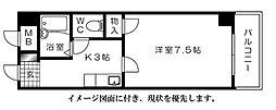 ファミーユ對重[305号室]の間取り