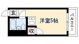 愛知県名古屋市瑞穂区石田町1丁目の賃貸マンションの間取り