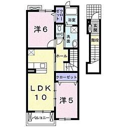 アトラクティブ ハウス[2階]の間取り