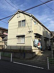 東京都大田区鵜の木2丁目の賃貸アパートの外観