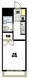 エスプリ片倉C棟[2階]の間取り