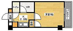 第6野地ビル[304号室]の間取り