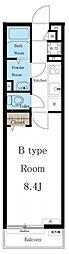 (仮称)リブリ・御器所B[2階]の間取り