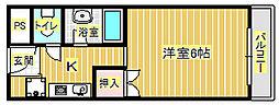 ジャンティ箕面[3階]の間取り