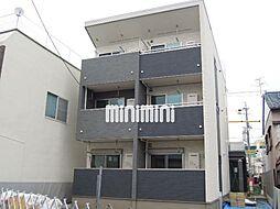 静岡県静岡市清水区入船町の賃貸アパートの外観