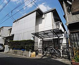 京都府京都市東山区問屋町通五条下る東橘町の賃貸アパートの外観