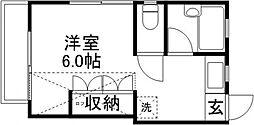 メゾン・シマダ[2階]の間取り