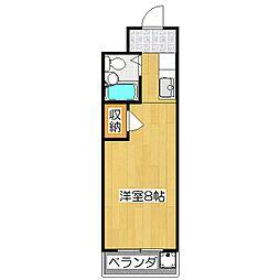 メゾンドアムール[203号室]の間取り