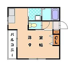 Aレガート和白II[2階]の間取り