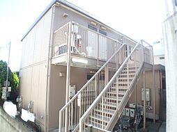 兵庫県神戸市東灘区西岡本6丁目の賃貸アパートの外観