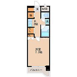 ライオンズマンション日吉町[405号室]の間取り