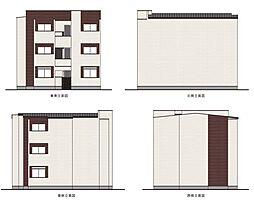 兵庫県尼崎市杭瀬北新町3丁目の賃貸アパートの外観