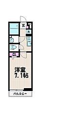 リブリ・YUME[2階]の間取り