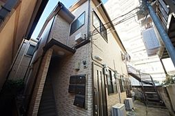 東京都新宿区四谷坂町の賃貸アパートの外観