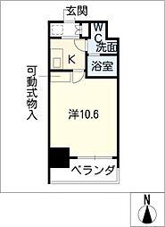 プライムアーバン栄[7階]の間取り