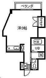 リバティハウス2[603号室]の間取り