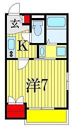 (仮称)本郷町メゾン[2階]の間取り
