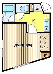 NKコーポ[2階]の間取り
