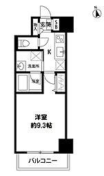 S-FORT新潟本町 1階1Kの間取り