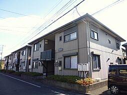 東京都あきる野市原小宮1丁目の賃貸アパートの外観
