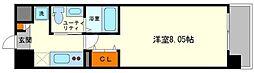 ウインズコート新大阪[3階]の間取り