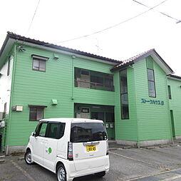 新潟県新潟市東区牡丹山5丁目の賃貸アパートの外観