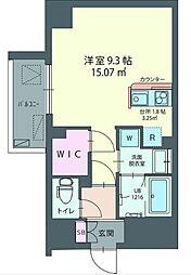 ハウス西横浜[2階]の間取り