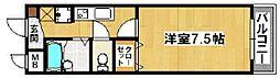 HIYORI-II[3階]の間取り