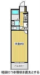 愛知県名古屋市千種区日和町4丁目の賃貸マンションの間取り