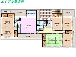 コンフォート小畑マンション[4階]の間取り