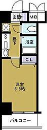 エステムコート大阪ベイエリア[7階]の間取り