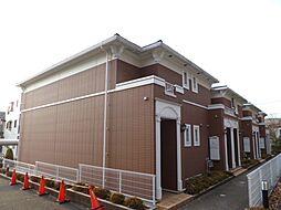 東京都羽村市羽東3丁目の賃貸アパートの外観