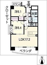 シャルム12[5階]の間取り
