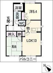 Lits House[1階]の間取り