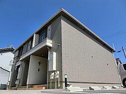 愛知県稲沢市稲葉3丁目の賃貸アパートの外観