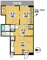 天竜ビル[802号室号室]の間取り