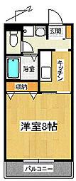 静岡県三島市徳倉3丁目の賃貸アパートの間取り