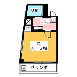 オリトビル[3階]の間取り