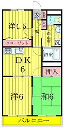柏央ビル[2階]の間取り
