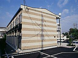 千葉県千葉市花見川区天戸町の賃貸アパートの外観
