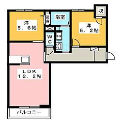 Relafort[2階]の間取り