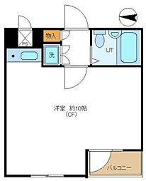 日興パレス文京part5[3階号室]の間取り