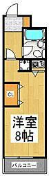 グランデールパートI[3階]の間取り