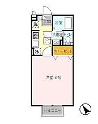 TAKASAKI HILLS 2nd[103号室]の間取り