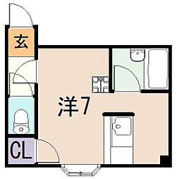 リーヴハウス[3階]の間取り