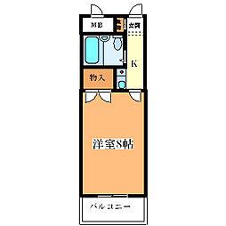ネスト88[402号室]の間取り