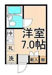 第二TKビル[103号室]の間取り