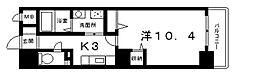 ロワ・リオン上町[2階]の間取り